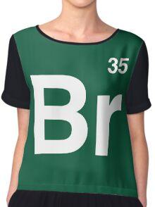 Br 35 -Breaking Bad Periodic Chiffon Top