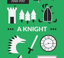 Once Upon A Time - A Knight by Redel Bautista