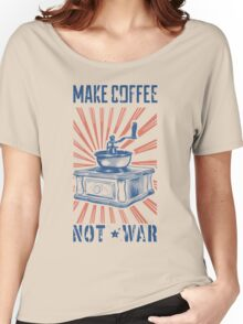 COFFEE GRINGER Women's Relaxed Fit T-Shirt
