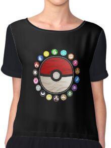 Pokemon - Pokeball Chiffon Top