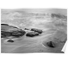 Allens Pond XIII BW Poster