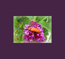 Cardinal Beetle on Buddleia Unisex T-Shirt