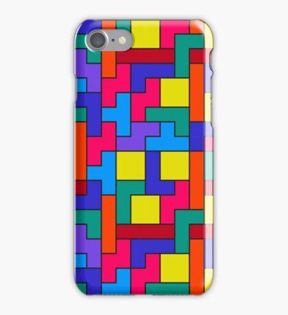 Tetris Blocks Pattern iPhone Case/Skin