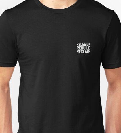 Seth Rollins: Redesign, Rebuild, Reclaim Corner Logo Unisex T-Shirt