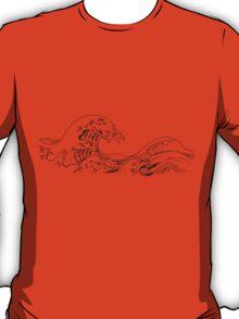"""""""The Great Wave off Kanagawa"""" T-Shirt"""