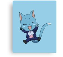FAIRY TAIL: Suited & Booted Happy  Canvas Print