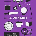 Once Upon A Time - A Wizard by Redel Bautista