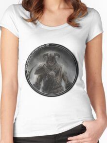 Skyrim Art Women's Fitted Scoop T-Shirt