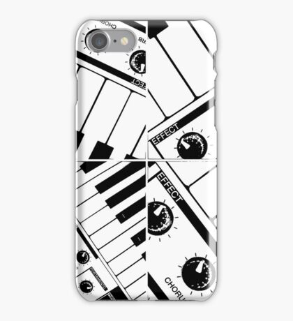 Abstract Synth Keyboard  iPhone Case/Skin
