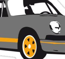 Porsche Carrera Sticker
