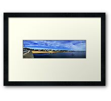 Provincetown MA Panoramic Framed Print