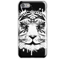 Kopf eines weißen Tigers iPhone Case/Skin