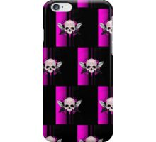 Wing Skull - PINK (Pattern) iPhone Case/Skin