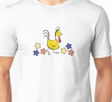 Stylized Rooster Unisex T-Shirt