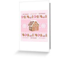 Crybaby xmas  Greeting Card