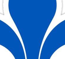 Fleur de Lis - Blue Sticker
