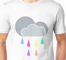 Rainbow drops Unisex T-Shirt