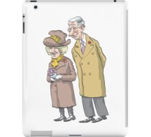 Royals, Charles and Camilla iPad Case/Skin