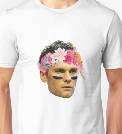 Flower Crown Tom Brady Unisex T-Shirt