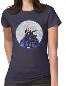 Clara and the Doctor Womens Fitted T-Shirt