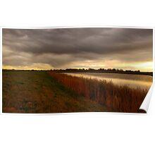 LG G5 Autumn Dawn Poster