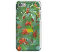 Red Berries Tree iPhone Case/Skin