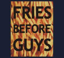 Fries Before Guys Kids Tee