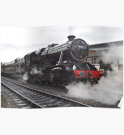Steaming From Sheffield Park Poster