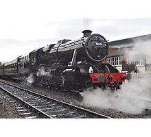 Steaming From Sheffield Park Photographic Print