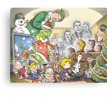 Christmas Classic characters Canvas Print
