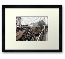Saturday in Trinity Leeds Framed Print