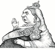 Queen Victoria by MacKaycartoons
