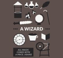 Once Upon A Time - A Wizard Kids Clothes