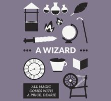 Once Upon A Time - A Wizard Kids Tee