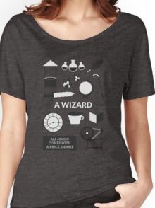 Once Upon A Time - A Wizard Women's Relaxed Fit T-Shirt