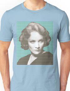 Marlene Dietrich - Blue Unisex T-Shirt