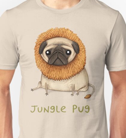 Jungle Pug Unisex T-Shirt