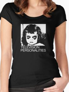 TV Personalities band, TVP, The Gifted Children Women's Fitted Scoop T-Shirt