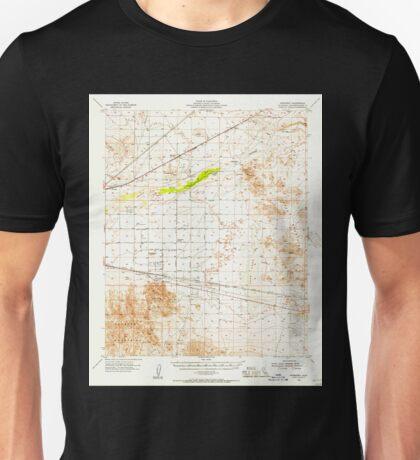 USGS TOPO Map California CA Newberry 298364 1955 62500 geo Unisex T-Shirt