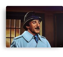 Peter Sellers as inspector Clouseau  Painting Canvas Print