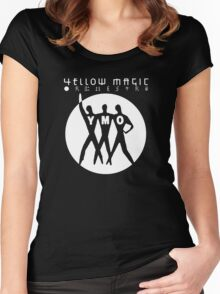 Yellow Magic Orchestra band Women's Fitted Scoop T-Shirt