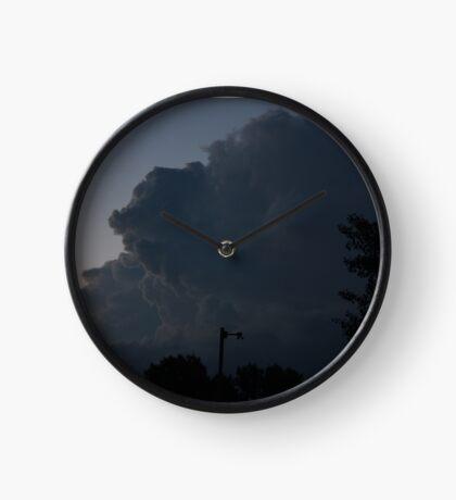 Storm Watch Clock