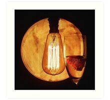 Prosecco Light Art Print