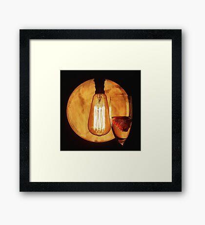 Prosecco Light Framed Print