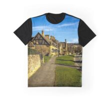 Broadway Village (Cotswolds) Graphic T-Shirt