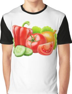 Mixed fresh vegetables Graphic T-Shirt