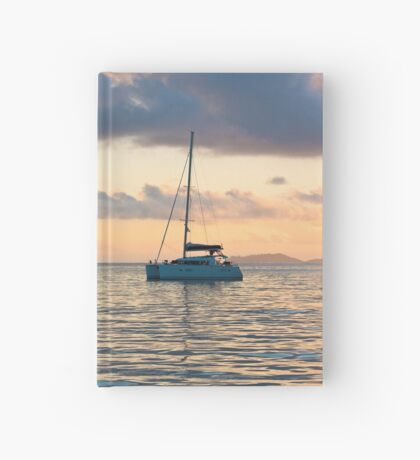 Recreational Yachts at the Indian Ocean Hardcover Journal