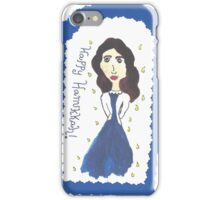 Hanukkah Girl iPhone Case/Skin