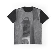 Pilgrim Psychiatric Center Abounded Building Detail | West Brentwood, New York Graphic T-Shirt
