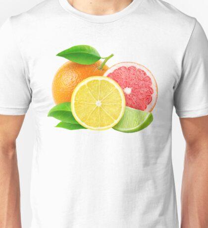 Various citrus fruits Unisex T-Shirt